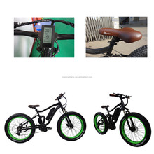 Frame Air Suspension Mid Drive Motor Cheap Electric Mountain Bike