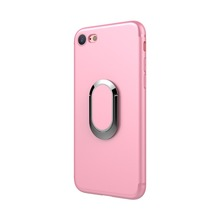 Shockproof Rotating Metal Ring Phone Holder Case With Stand For iPhone 6 6 Plus 7 7 Plus