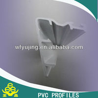 XINLI Brand UPVC profile/ UPVC extrusion profile 80 inter lock