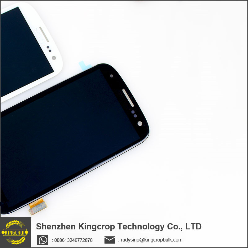 100% Top quality for samsung galaxy s3 i9300 lcd touch screen