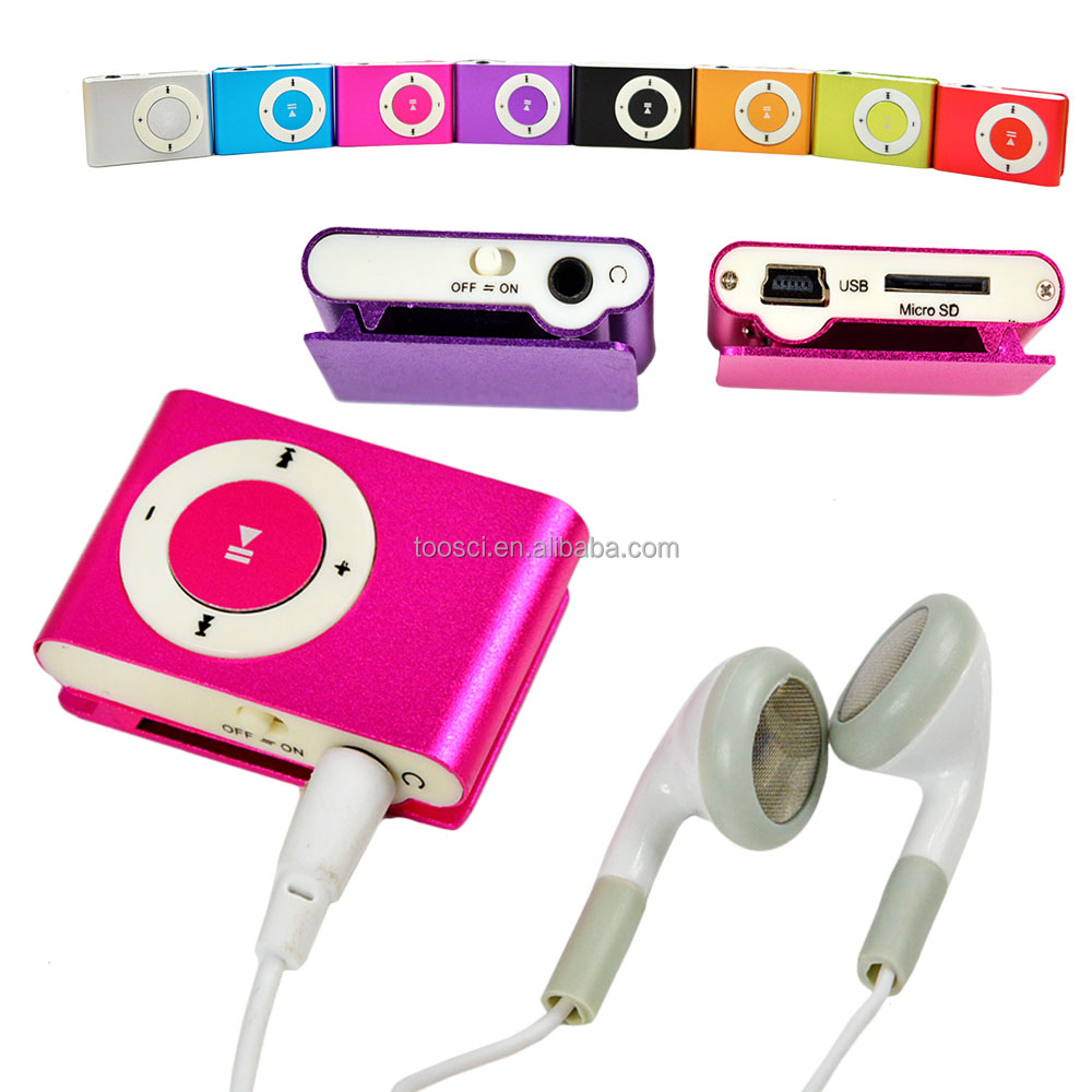 Colorful TF Card MP3 Player Portable Mini MP3 Player Mini MP3 Multimedia Player