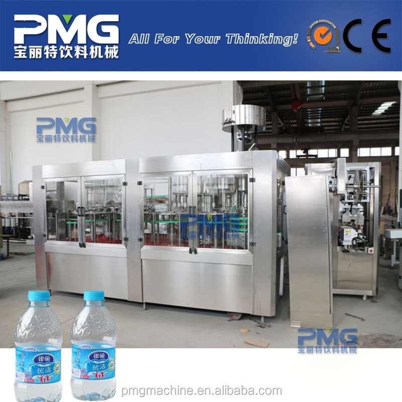 Good quality and reliable price automatic 3-in-1 mineral water filling machine
