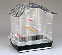 low MOQ black canary breeding cages for sale with hanging toy 18108A