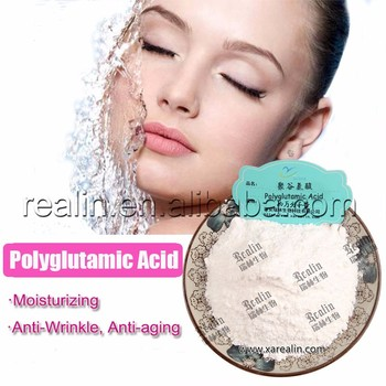 Cosmetic Grade PGA Polyglutamic Acid Pure Poly glutamic Acid Price