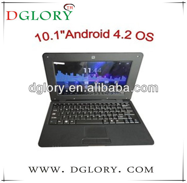"DG-NB1003 10.2"" laptop/netbook/notebook CPU VIA8880 1024*600 512MB/4GB Android 4.2"