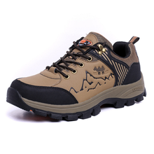 M1502 low waterproof outdoor Men climbing shoes /leisure sports shoes /hiking shoes