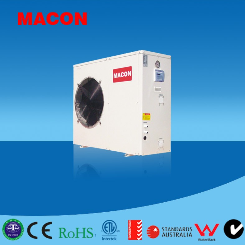 Air to water DC inverter swimming pool heat pumps