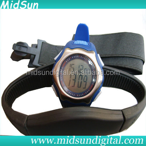 sport heart pulse rate monitor watch,infrared heart rate monitor,heart rate watch with chest strap