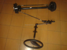 7kw electric vehicle front axle steering system