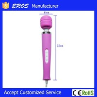 Cheap 20 speed plug-in vibrating sex machine, relax pussy vibrator for girl