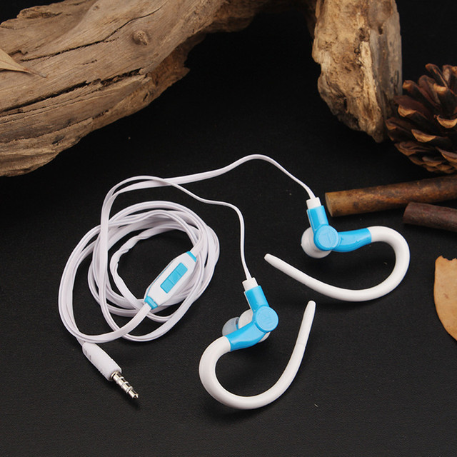 LMK-501 Good Quality Stylish Sports Running Earphones Super Bass Stereo Cheap Headphones With Mic For Smartphone Laptop