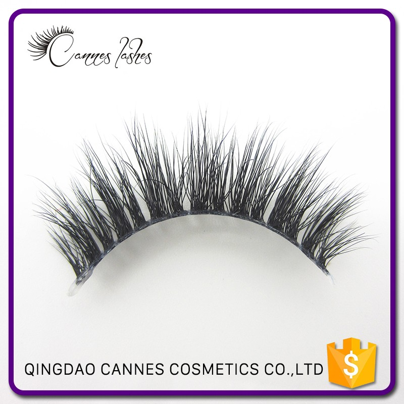 invisible band mink eyelashes mink lashes with private label