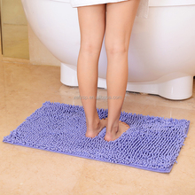 water-absorbent microfiber chenille fabric mats
