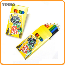 Crayon 6 pcs set colour pencil