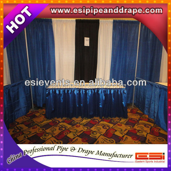 ESI Hot Sale Pipe And Drape Good Quality Wedding Backdrop Stands