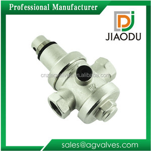 forged brass Water pressure reducing limited relief valve