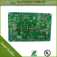 mini drill sata connector pcb oslon star pcb board with high quality