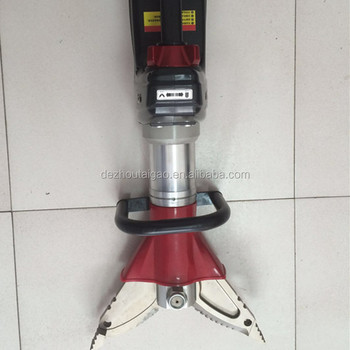 High quality hydraulic battery rescue clamp tools for firefighters from Chinese manufacturer