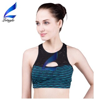 Lotsyle Wholesale Breathable Sport Wear Womens Sports Bra