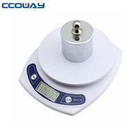 High quality portable CE and ROHS certification kg/g/oz/lb/ units LCD display digital kitchen weight scale