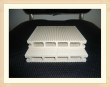 white wood plastic composite decking / extruded plastic composite decking / ipe wood brazil decking