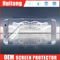 For Samsung Galaxy S7/ S7 Edge 3D Curved Tempered Glass Screen Protectors Transparent Color