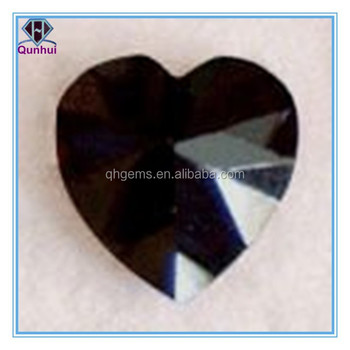 magnetically heart shaped any color cz stone