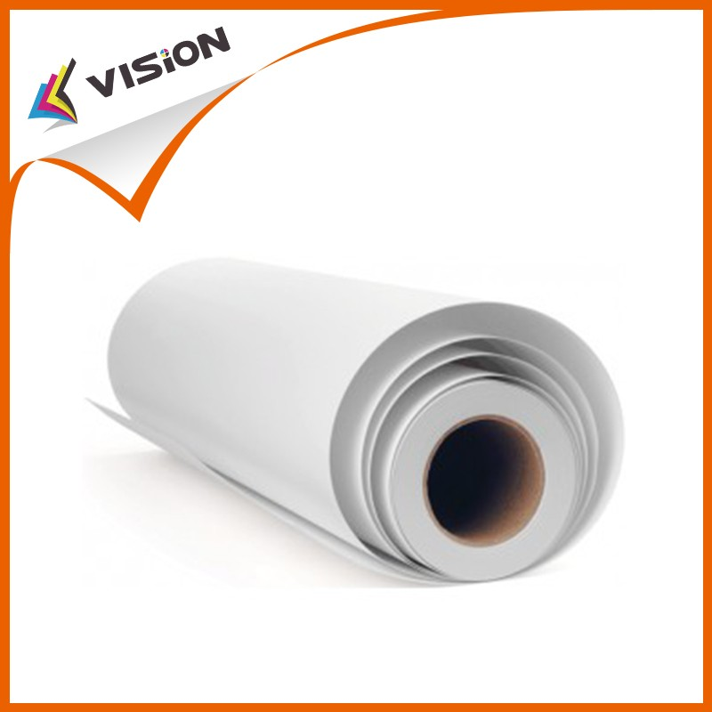 "100gsm fast dry Inkjet printing heat sublimation transfer paper in roll 24""*100m,64""*100m"