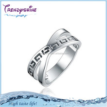 Latest design custom engraved stainless steel engineers iron ring sale