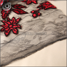 Latest Style High Quality high quality sequin embroidery fabric for dress
