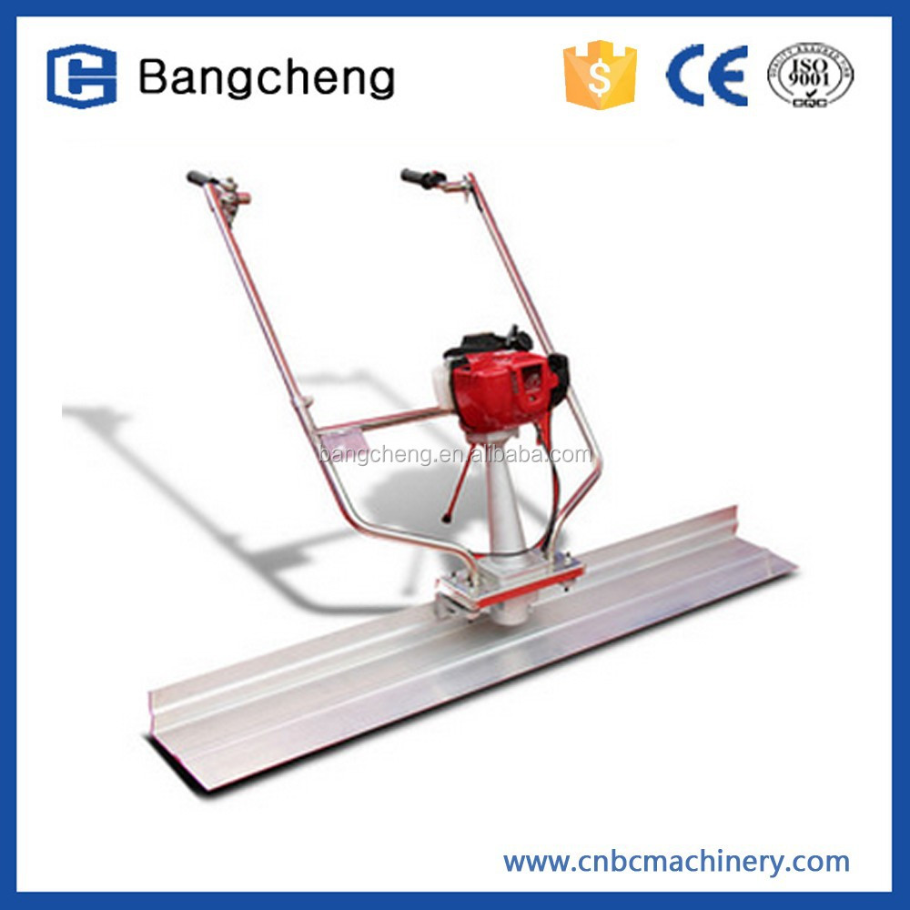 Bangcheng Honda Vibratory truss screed concrete smoother/concrete leveling machine