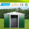 easy assembly/easy to use flat roof pre assembled metal house