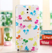 For Galaxy Note 3 Cartoon tpu cover, for Galaxy Note 3 Cute stitch case, cellphone case for Samsung N9000