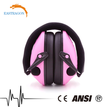 Safety Cute Heated Earmuff Hunting for Children