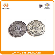 Low price wholesale custom game copy token metal coin for promotion