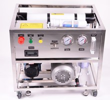 Island or boat sea water desalination RO system, seawater cleaning machine