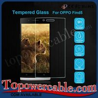 Armor Mobile Phone Accessories Tempered Glass Screen Protector For Oppo Find5 X909