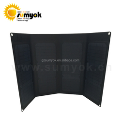 40 watts mono folding solar panel with A grade high efficiency cell for yacht