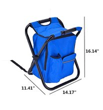 high quality thermal folding collapsible camping fishing chair cooler bag