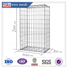 2016 gabion basket /cages/dimensions sizes for hot sale