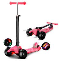 Fun Toys Cheap 4 Wheel Kids Kick Mini Scooter/ 4 Wheel Cheap Kids Scooter/ newest design frog Scooters