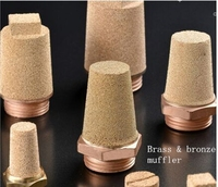 SET Type bronze filter element air pneumatic muffler