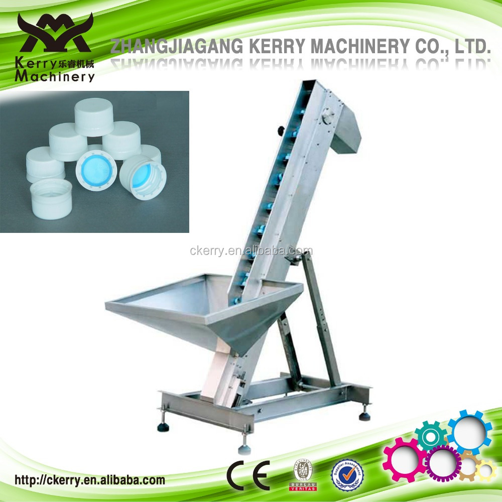 Cap Elevator and Vingar Production Line