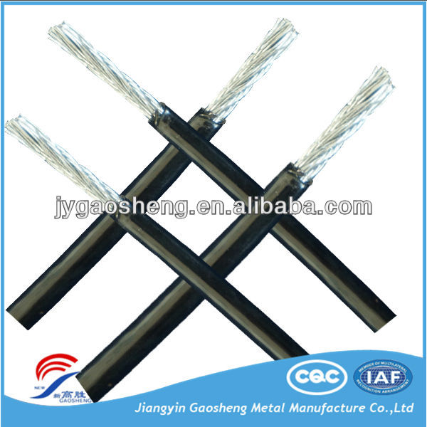 PVC Coated PE Coated galvanized Steel Wire Rope