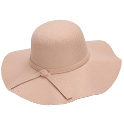 Women's Fashion Stylish Ladies Large Brim Floppy Bowler Hat