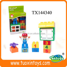 Plastic building blocks/bricks /educational toys for kids, cy promotional toys