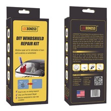 LOCBONDSO BWR0003CR1B Auto Glass Adhesive for Car Windshiled Repair