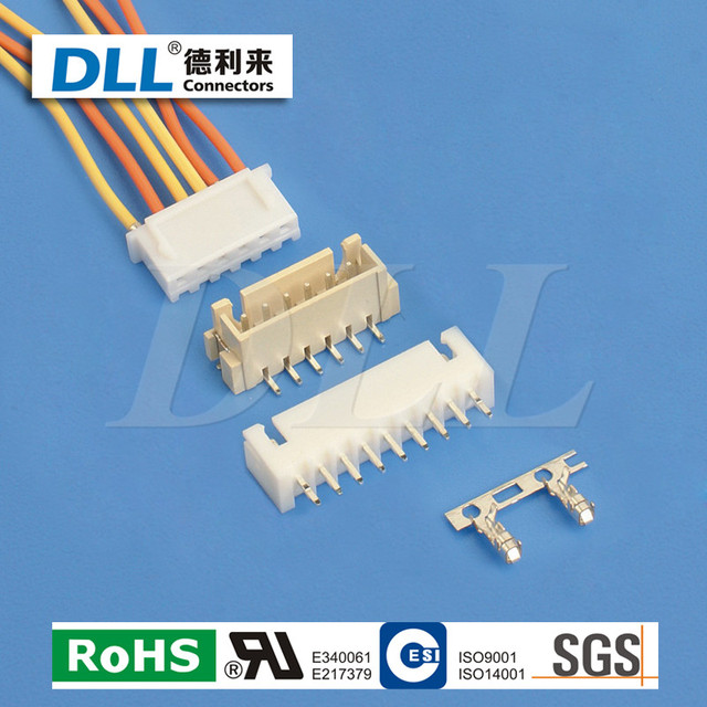 3 pin connector header 2.54mm 2.54-3p xh-3p kit 2.54 pitch pin header 2.54mm female bottom entry connector