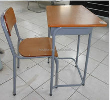School Furniture High School Classroom Desks and Chairs Single Set