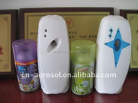 automatic air freshener refill wih dispenser package